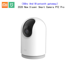 2020 Original Xiaomi Mijia 360 각도 스마트 IP 카메라 PTZ Pro 게이트웨이 및 이중 주파수 5ghz Wifi mi 홈 키트 보안 모니터