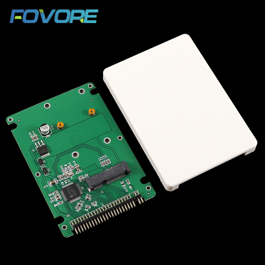 Переходник mSATA-PATA на 44PIN IDE HDD SSD mSATA, адаптер + чехол, оптовая продажа, Прямая поставка