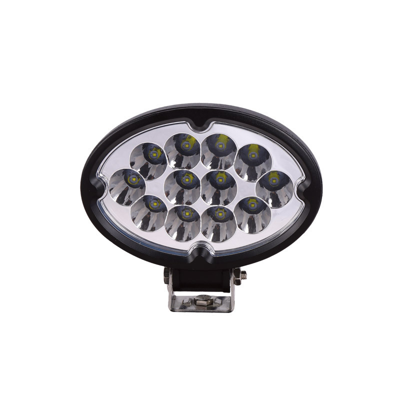 Oval LED Lighting Engineering Equipment 36 W Cross-country Car Lights Work Light Mechanical Cars Special Lights