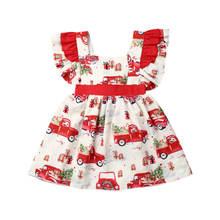 Рождественское платье пачка для новорожденных девочек и такси