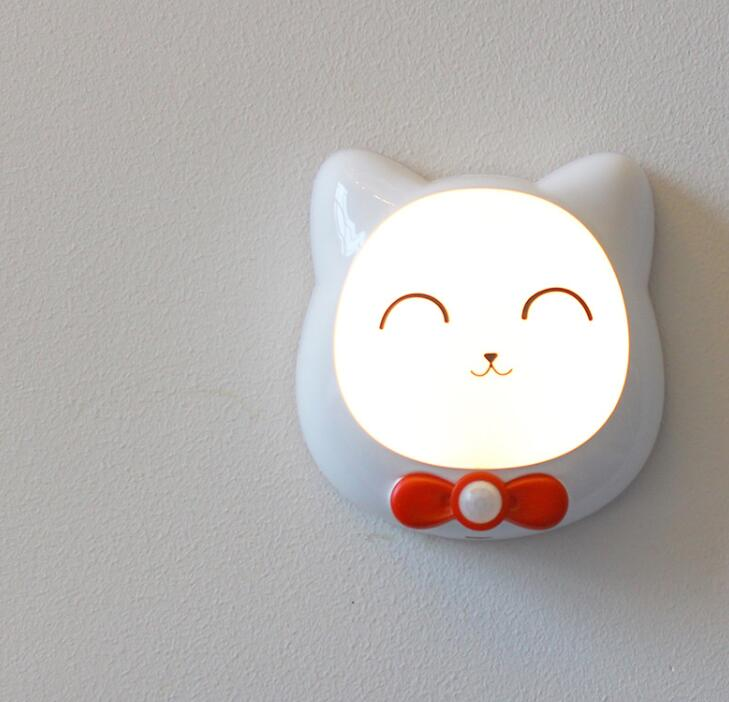Creative Night Lamp Bedside Lamp Corridor Supplementary Lamp
