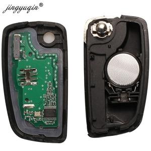 Image 5 - jingyuqin 2/3 Buttons 433MHz 4A PCF7952E Flip Remote Key For Nissan Qashqai J11 Pulsar C13 Juke F15 X Trail T32 Micra CWTWB1G767