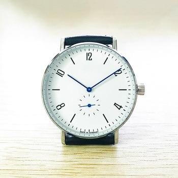 цена на Mens Watches Leather Strap Slim Quartz Fashion Casual Business Mens Wrist Watch Top Brand Male Gift Clock Relogio Masculino