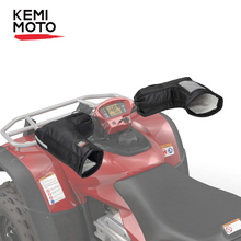 Универсальные мотоциклетные рукавицы на руль, перчатки, захват для квадроцикла, для Polaris, для Yamaha Touring, приключения, скутера, снегохода, водно...