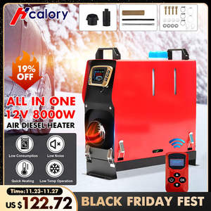 Car-Heater-Tool Parking-Warmer Boat Lcd-Monitor Truck Diesels Hcalory All-In-One New