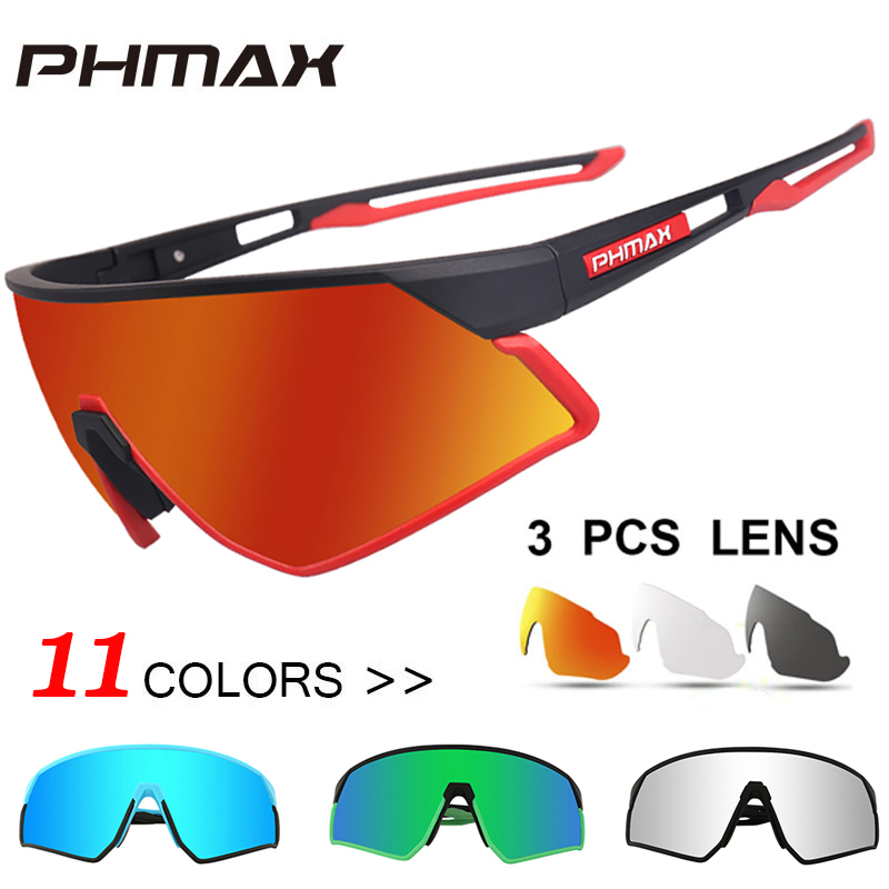 A47 Polarized Sports Sunglasses Glare UV400 Protection HD Night Vision for Motorcycle Riding Glasses