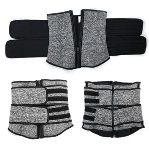 Image 4 - אישה גוף Shaper מחוך מותניים מאמן בטן הרזיה נדן הפחתת מחוכים משקל אובדן Shapewear בטן מעצבי דוגמנות חגורה