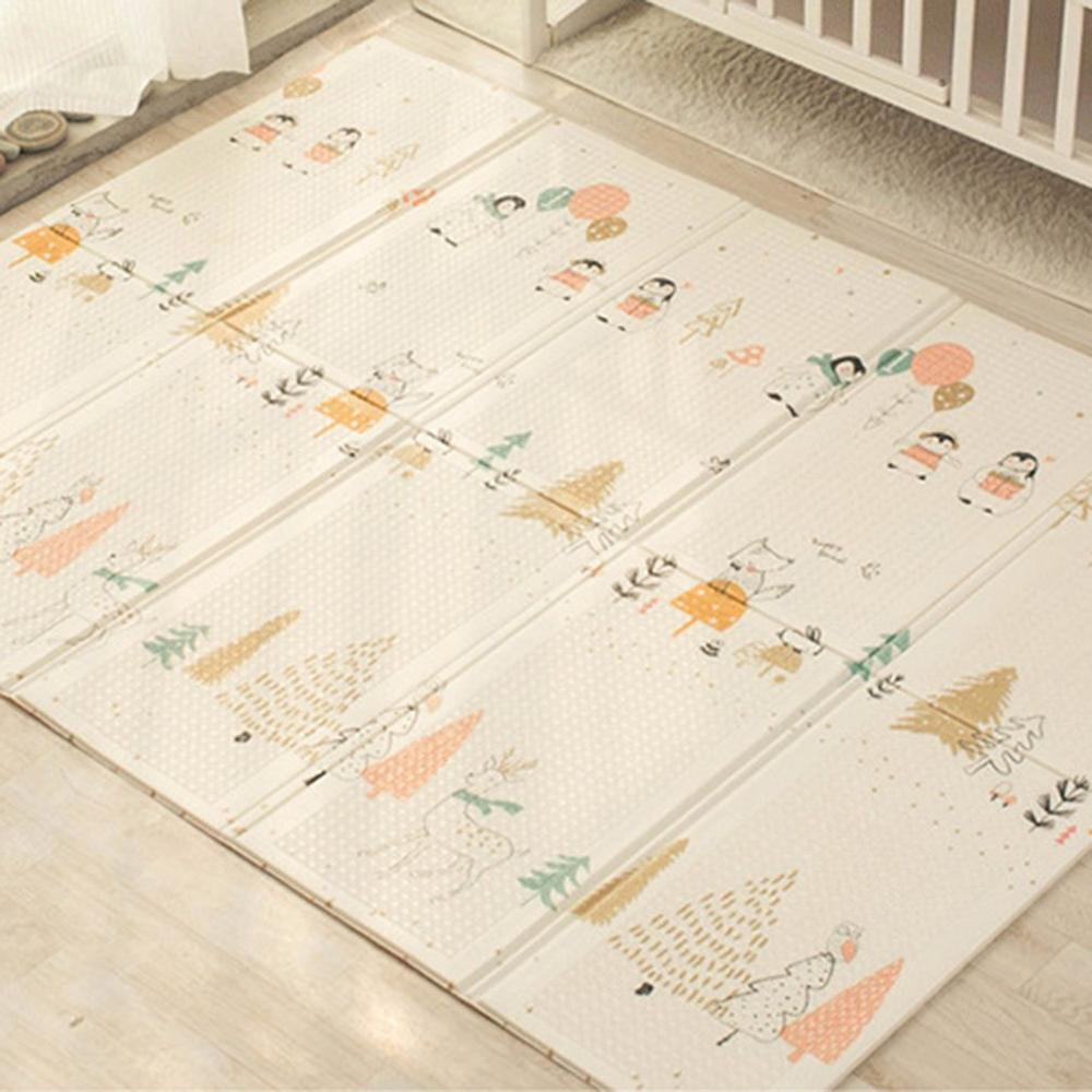 Tapis rampant pliable bébé enfant tapis de pique-nique Xpe tapis d'escalade jeu couverture salon maison tapis en mousse