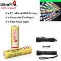 UltraFire 18650 original 3,7 V 3600mAh batería recargable de iones de litio de alta calidad linterna de litio regalo para juguetes de linterna