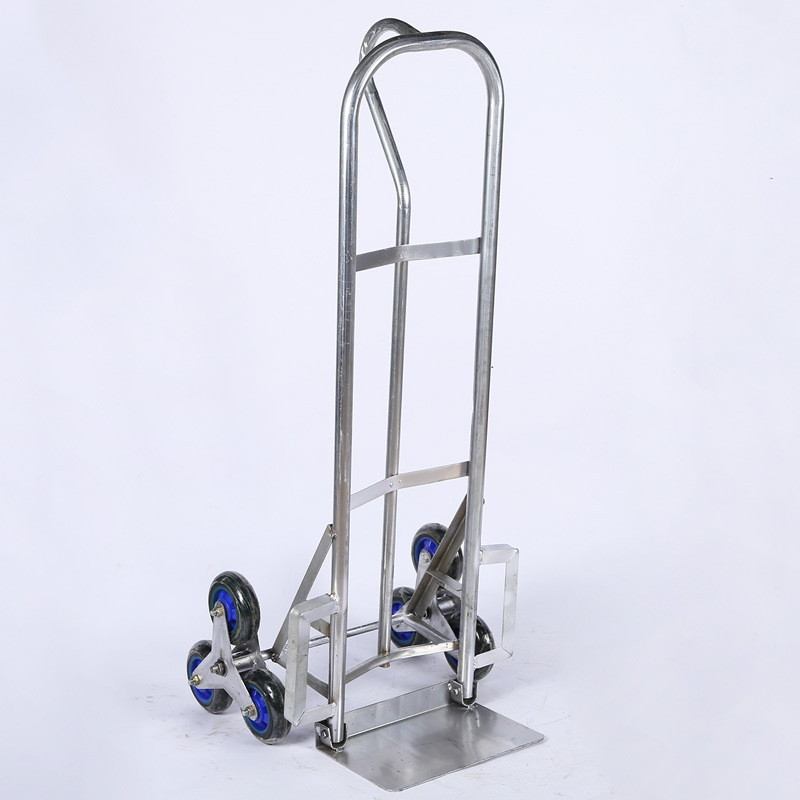 Climbing Car Six-wheeler Load King Hand Truck Pulling Truck Warehouse Handling Tool Trolley Climbing Car