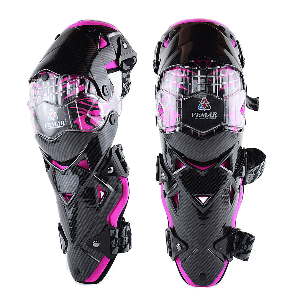 VEMAR E-18 Motorcycle Knee Pad CE Motocross Knee Guards Motorcycle Protection Knee Motor-Racing Guards Safety Gears Race Brace