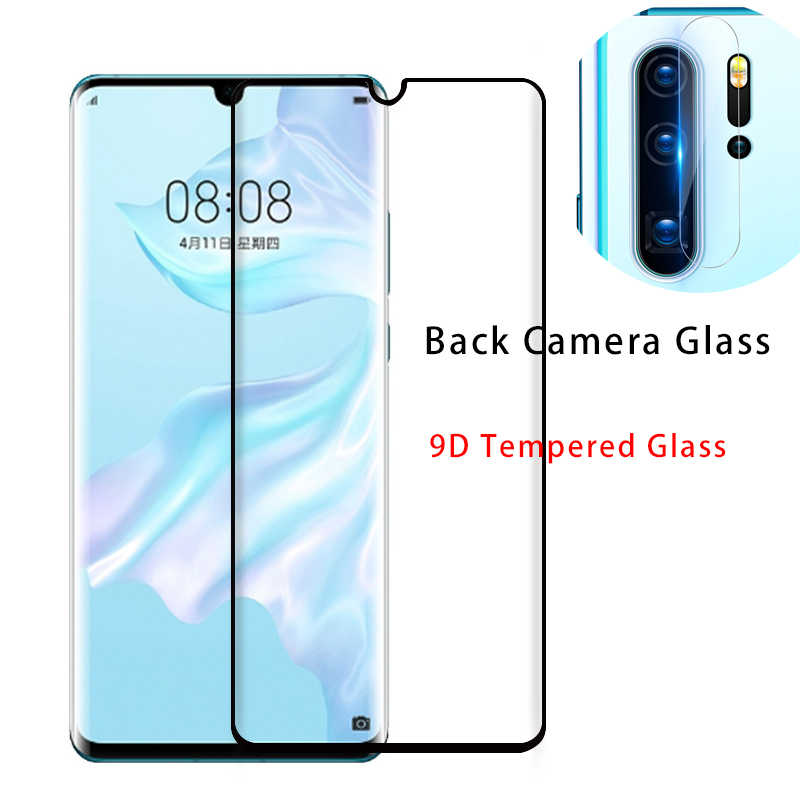 2in1 Phone Back Camera Lens Glass + 9D Screen Protector for Huawei Y6 2019 Tempered Glass for Huawei Y9 2019 Y5 Y7 Prime 2018