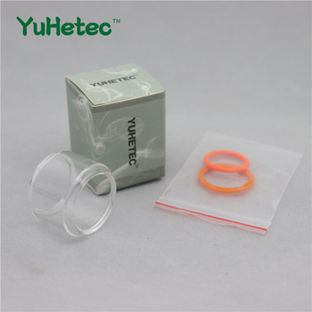 YUHETEC Fatboy Glass Tank Pyrex Replacement For VAPE PEN 22 Clearomizer Bubble GLASS TUBE With Oring цена 2017
