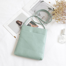2020 new portable solid color messenger small bag simple casual small square bag forest small fresh shoulder bag shunruyan new women s national vintage craft wipe color leather simple shoulder messenger bag portable small square package