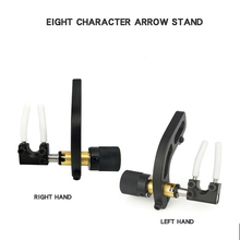 цена на Archery Arrow Rest Compound Bow Accessory Arrow Stand For RH and LH Type Recurve Bow Outdoor Hunting Estilingue Arrow Shooting