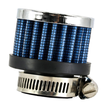 Blue 25mm Car Air Filter Breather Cleaner Automotive Repair Parts image