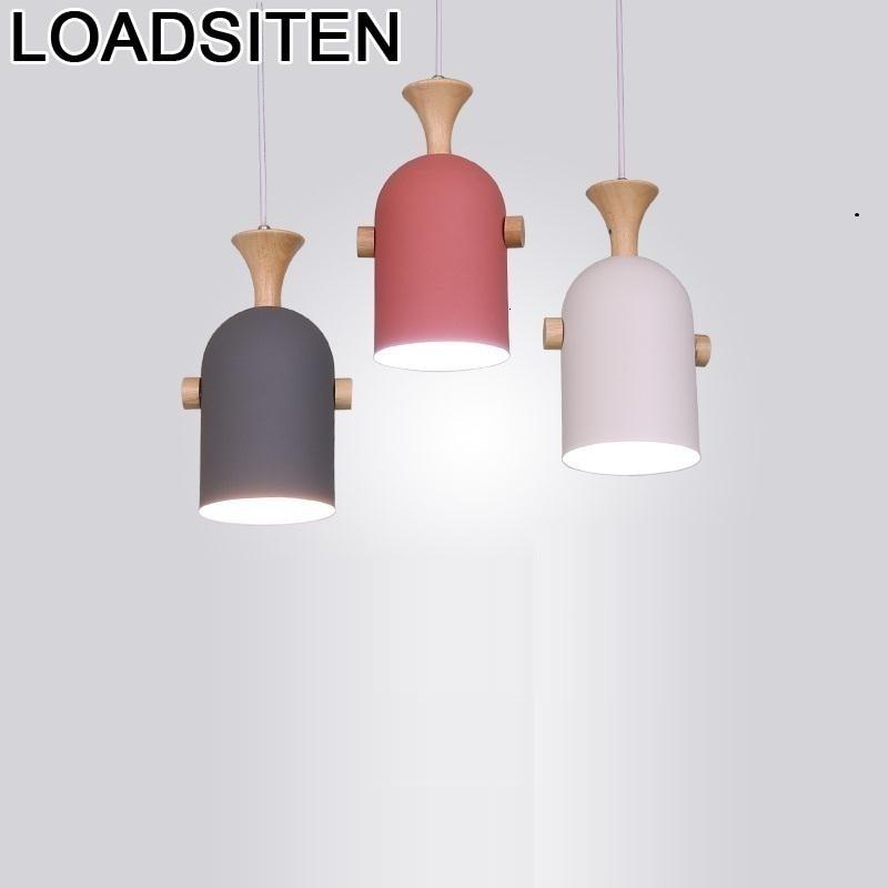Cocina carne Europea Loft lámpara Colgante industrial Luminaria Suspendu Luminaria lámpara De Techo Colgante Moderna lámpara Colgante-in Luces colgantes from Luces e iluminación