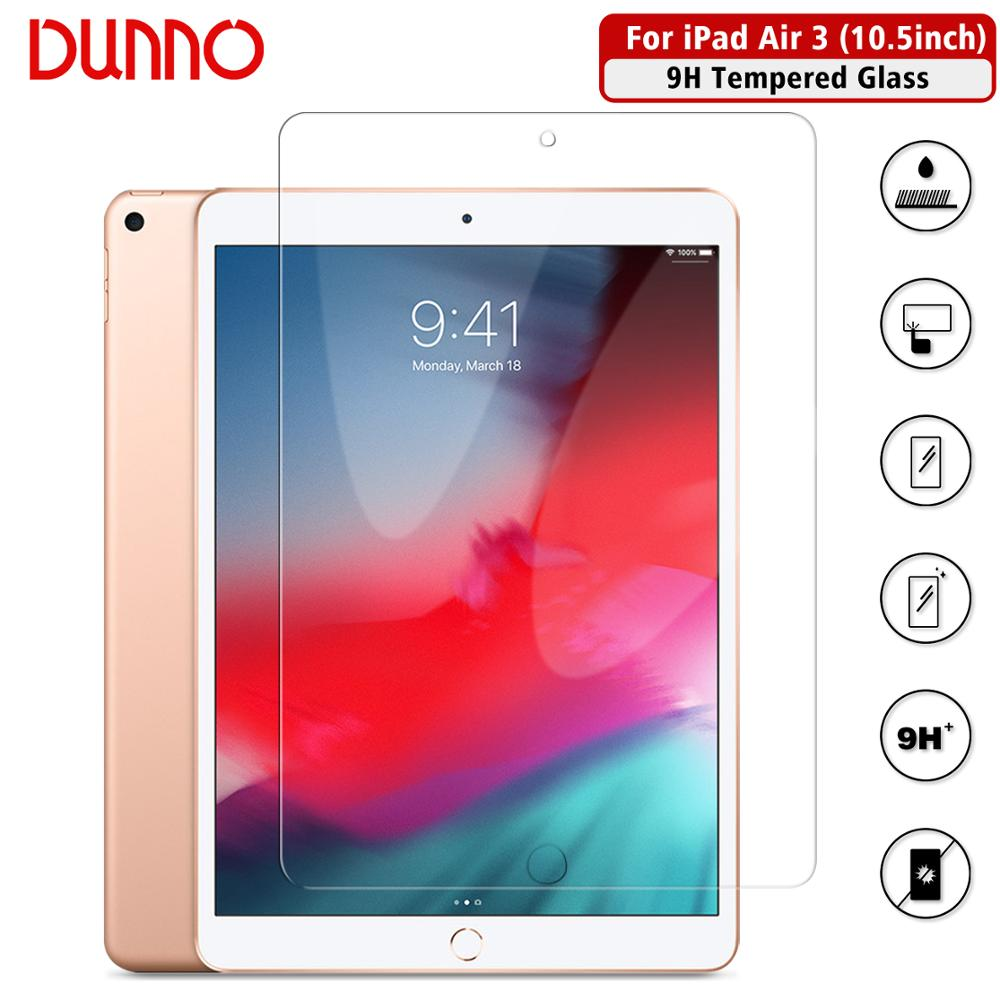 Tempered Glass Protective Film For 2017 IPad Pro 10.5 Screen Protector Glass Apple 2019 IPad Air 3 Screen Film Aipad Protection