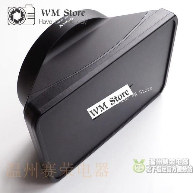 Mới FS7 FS7II FS7M2 28 135 Lens Hood Nắp Bao Da Dành Cho Sony PXW FS7 PXW FS7II PXW FS7M2 SELP28135G 28 135mm Chi Tiết Sửa Chữa
