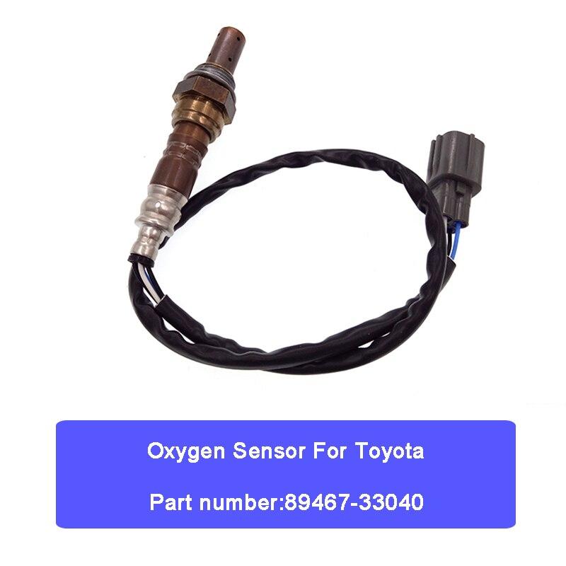 Sauerstoff Sensor O2 Sensor 89467-33040 Für Toyota Camry 2,4 L4 Solara Auto Teile Auto Reparatur Auto Zubehör 89467 33040 draht