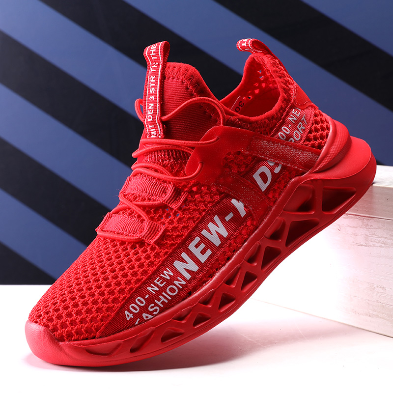 New Kids Running Sneakers Summer Children Sport Shoes Breathable Mesh Boys Casual Walking Sneakers Lightweight Girls Tenis Shoes
