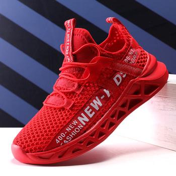 Nowe dziecięce adidasy do biegania letnie dziecięce buty sportowe oddychające siatkowe chłopcy przypadkowi buty do chodzenia lekkie dziewczęce buty tenisowe tanie i dobre opinie Kitlilur 13-24m 25-36m 3-6y 7-12y 12 + y CN (pochodzenie) Lato Dobrze pasuje do rozmiaru wybierz swój normalny rozmiar