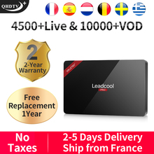 Leadcool Pro QHDTV Plus IPTV France/Arabic/Italy/Canada Android 8.1 1+8G/2+16G France/Arabic/Italy/Spain/Canada