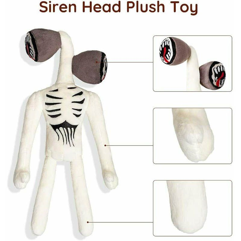 12 Siren Head Plush Toy Stuffed Plush Doll Toy Kids Gift,Halloween Thanksgiving Christmas Party Boys and Girls Gift 12, 2 pcs