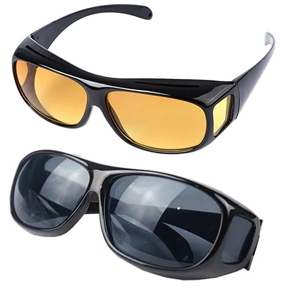Gas Electric Welding Polished Dust-proof Eye Protection Glasses Driving Sunglasses Anti-dizziness Night Vision Glasses Dropship