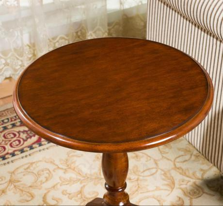 Round Side Sofa Table 4