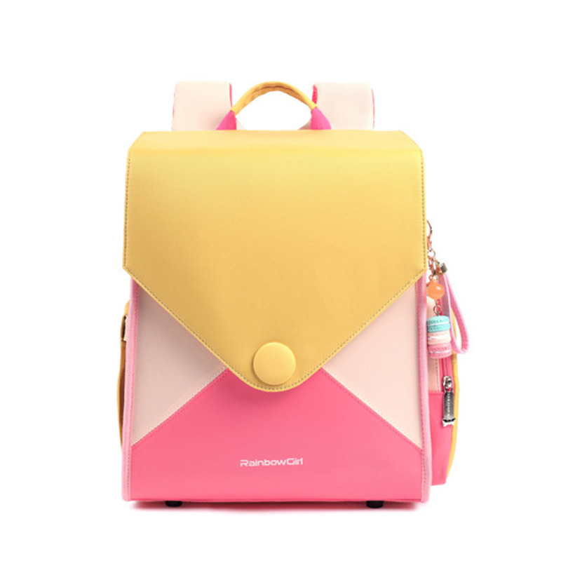 Fashion Backpack Kids Primary School Children Backpacks Girls Kids Backpack Girls Bags Sac A Dos Enfant Schoolbag Randoseru 2020
