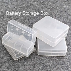 Durable 26650 18650 Battery Storage Box Hard Case Holder For 2/4 18650 4x AA 4xAAA Rechargeable Battery Power Bank Plastic Cases