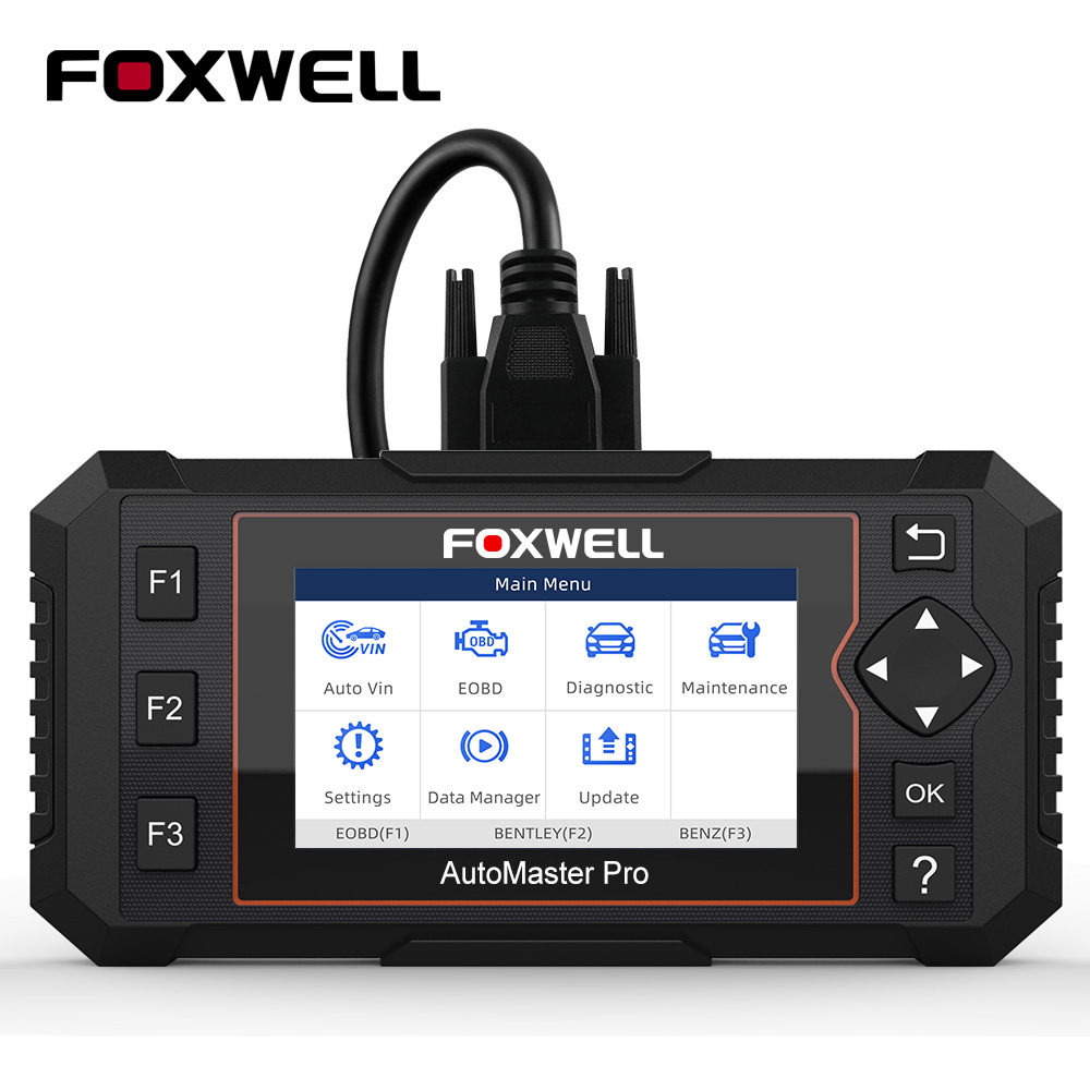 Foxwell NT614 Elite OBD2 Automotive Scanner Engine ABS Airbag AT System EPB Oil Reset Code Read Scanner ODB2 Diagnostic Tool on