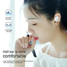 K10 TWS portable sans fil Bluetooth écouteur Binaural 5.0 sport Mini dans l'oreille casque compartiment de charge