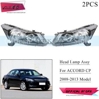 ZUK 2PCS HID Halogen Headlight Headlamp Head Light Lamp For HONDA ACCORD CP1 CP2 CP3 2008 2009 2010 2011 2012 2013 Left Right