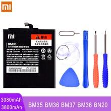 BM35 BM36 BM37 BM38 BN20 Battery For Xiaomi Mi 4C 5C 4S 5S Plus Mi4C Mi5S Mi5C Replacement Lithium Polymer Bateria + Free Tools