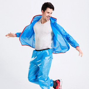 Image 5 - Chubasquero deportivo para hombre y mujer, traje impermeable para pescar al aire libre, a la moda, Unisex, para montar en motocicleta, impermeable, para adultos