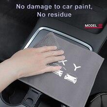 Premium Coral Fleece Dikker Car Cleaning Handdoek Microfiber Zorg Sterk Water Handdoeken Voor Tesla Model 3 X S Auto Accessorie