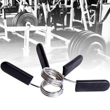 2Piece 24/25/28 Spinlock Collars Barbell Collar Lock Dumbell Clips Clamp Weight lifting Bar Gym Dumbbell Fitness Body Building