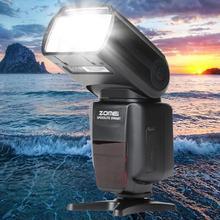 Портативная высокоскоростная вспышка для фотосъемки 5500K 18-180 мм профессиональная SLR HSS, 1/8000s камера 2,9 секунд