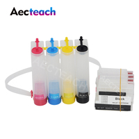 Aecteach For HP 711 XL Continuous Ciss Ink Tank For HP Designjet T120 24 T120 610 T520 24 T520 36 T520 610 Printer Ciss System