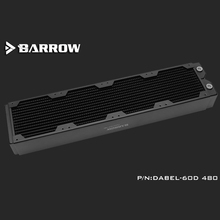 120MM Fan Radiator-Support Overclocking-Cooler Barrow Water-Cooling-Cpu Copper Dabel-60d-Length