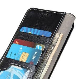 Image 4 - יוקרה רטרו Flip עור ארנק מגנטי סגירת כרטיס חריצי כיסוי מקרה עבור iPhone 11 פרו מקס Xs Max Xr X 8 בתוספת/8 7 בתוספת/7