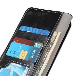 Image 4 - Funda de lujo Retro con Tapa de cuero con cierre magnético y ranuras para tarjetas para iPhone 11 Pro Max Xs Max Xr X 8/8/7/7