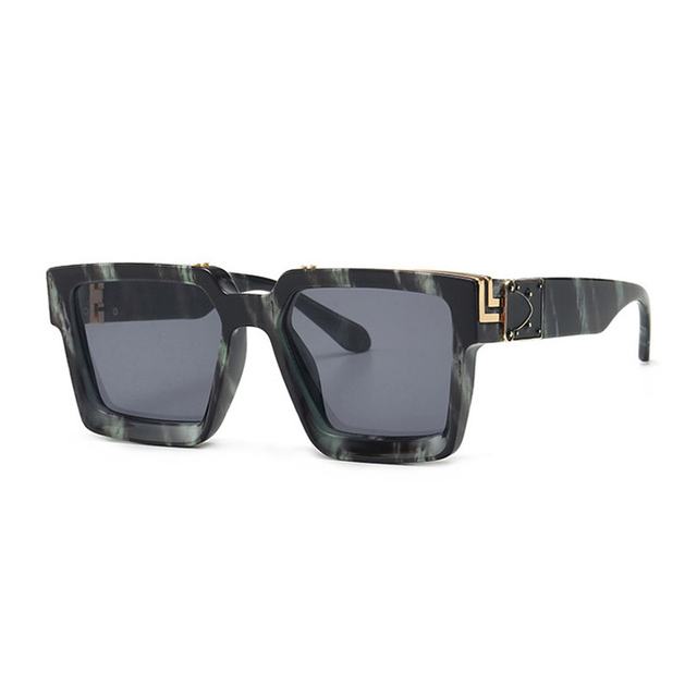 Retro Square Sunglasses Women Ins Popular Sun Glasses Men UV400 6