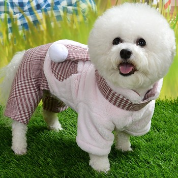 Winter Dog Costume Puppy Warm Coat Pet Dogs Thicken Jackets Clothing Dogs Clothes For Chihuahua Teddy Yorkie Pug Outfits image