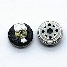 Unité de haut parleur 10mm unité de nano diaphragme en carbone environ 16ohms unité dégalisation 2 pièces