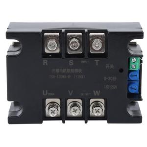 과부하 모터 소프트 스타트 모듈 컨트롤러 워터 펌프 팬 12KW 용 3 상 TSR-120WA-R1