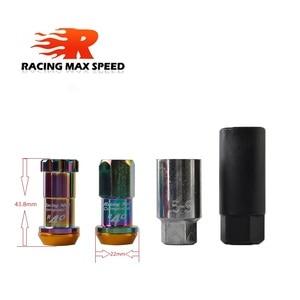 Image 2 - 20 Uds Racing Modificación de coche tuerca de neumático M12x1.5 tuercas de rueda para Honda, Toyota, Mitsubishi, Hyundai, Mazda, Kia,Subaru,Suzuk