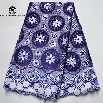 CS-Nigerian Swiss Voile Cotton Lace Fabric 2019 soft African Swiss Voile Lace In Switzerland High Quality Dry Lace